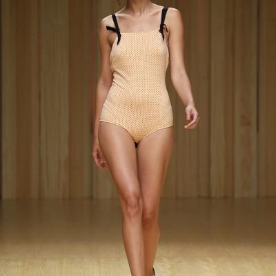 03JULIO2014 Desfile de Guillermina Baeza en el 080 Barcelona Fashion.