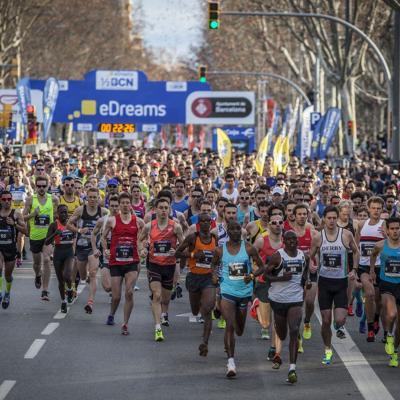 14FEBRERO2016 26ª edición de la eDreams Mitja Marató de Barcelona.