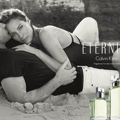 12MAYO2014 Eternity Calvin Klein anuncia una nueva campaña publicitaria mundial y el regreso a la marca  de Christy Turlington Burns, acompañada de su esposo Ed Burns. CREDITO IMAGEN: © 2014 Inez Van Lamsweerde and Vinoodh Matatin.