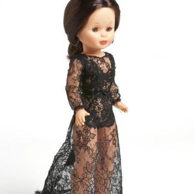 02OCTUBRE2013 Nancy se viste a la moda actual, en su 45 aniversario, con diseños exclusivos. Andrés Sardá. Foto: Museo de Traje de Madrid.