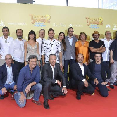 29AGOSTO2017 Imágenes de la película 'Tadeo Jones 2. El secreto del Rey Midas'. Premiere en Madrid.