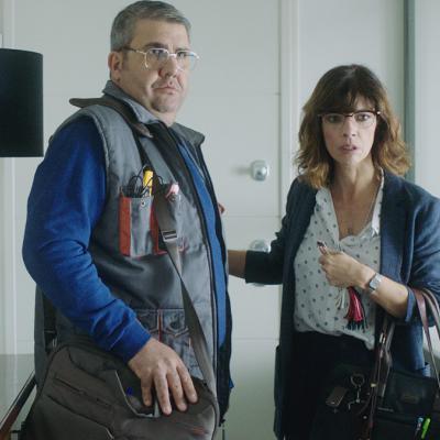 """ENERO2018 Nueva película de Santiago Segura """"Sin Rodeos""""."""