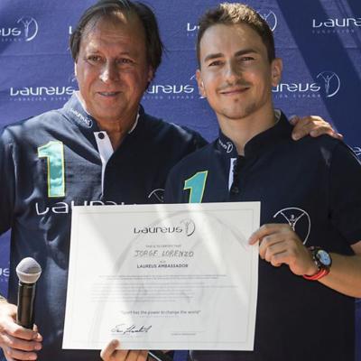 JUNIO2017 Jorge Lorenzo, embajador de Laureus.