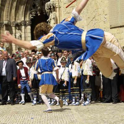 AGOSTO2012 Imagen de la última celebración, hace seis años en Morella (Castellón). Foto: Ajuntament de Morella.