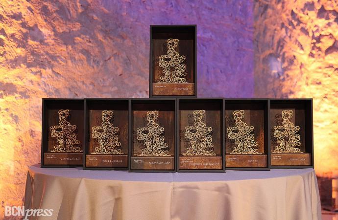 Duodécima edición de los galardones del JORGC