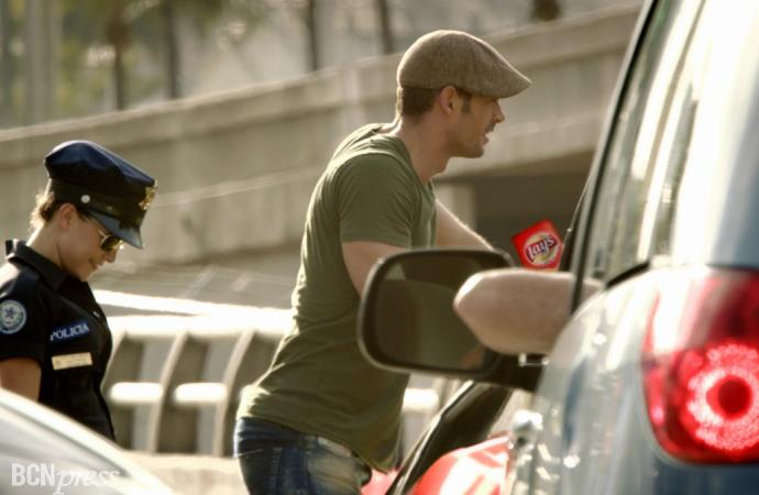 El actor  William  Levy, irresistible en el nuevo spot de Lay's.