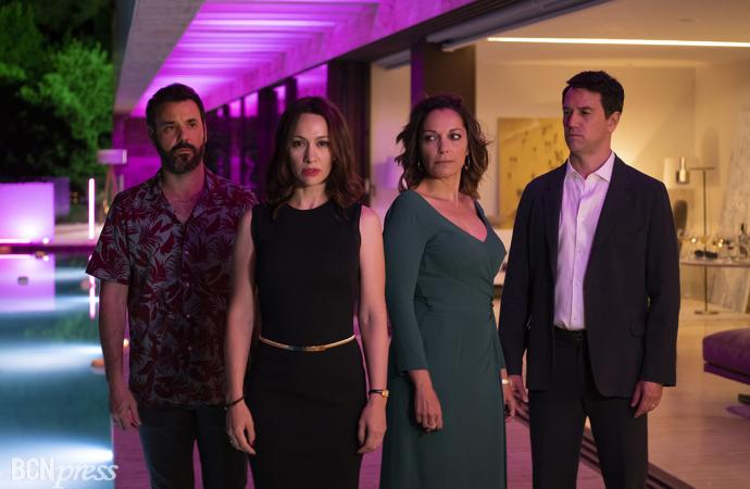 Rodaje de 'El nudo', serie de Atresmedia Televisión