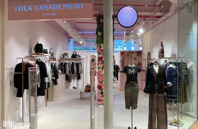 Inauguración tienda Lola Casademunt en L'Illa Diagonal