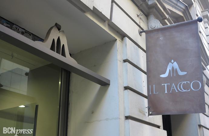 """Zapateria """"Il Tacco"""", en Barcelona"""