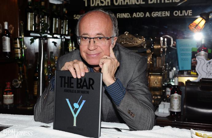 'The Bar. Homenaje al Dry Martini', libro por el 40 Aniversario del mítico establecimiento