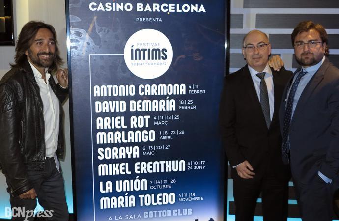 Presentación en el Casino Barcelona del Festival Íntims