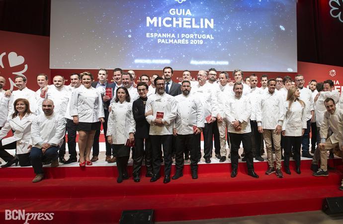 Entrega de las Estrellas Michelin España & Portugal 2019