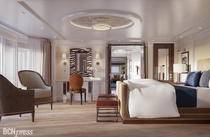 Oceania Cruises ha creado suites diseñadas por Ralph Lauren
