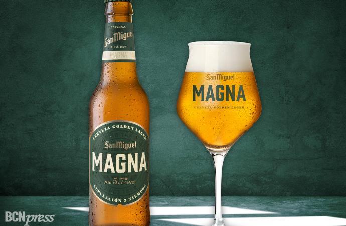 San Miguel lanza una nueva cerveza, Magna