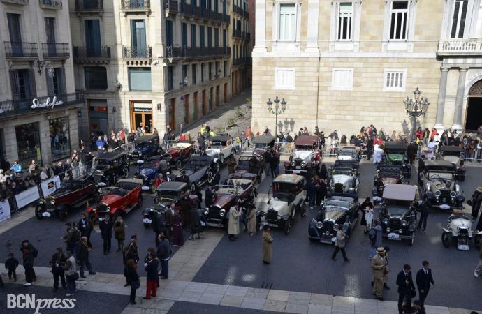 Éxito de público en el 55 Rally Barcelona-Sitges