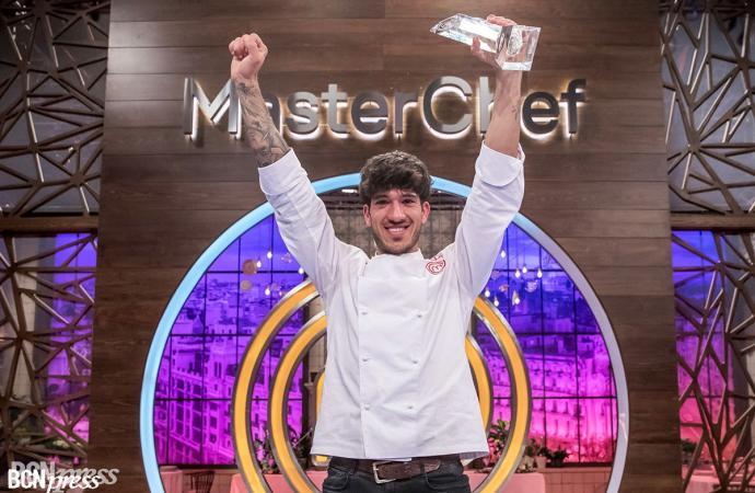 Aleix, ganador de 'MasterChef 7', realizó un menú que contaba su historia