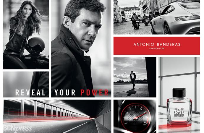 Power of Seduction lo nuevo de Antonio Banderas