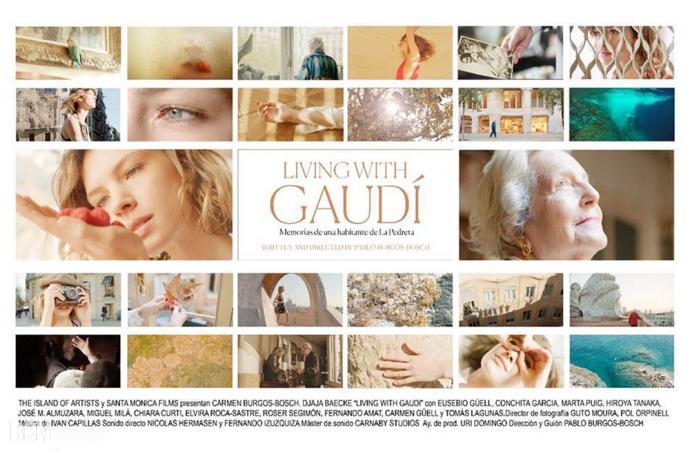 En La Pedrera se estrenó el documental 'Living with Gaudí'