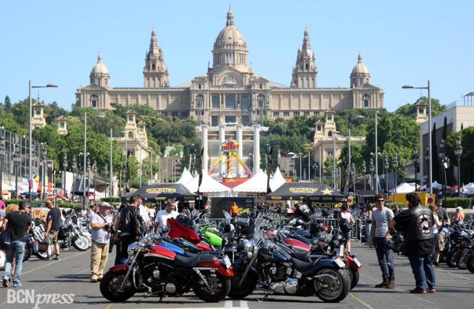 Rugidos en Barcelona