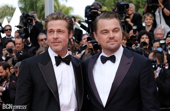 """""""Érase una vez en… Hollywood"""" de Quentin Tarantino se presentó en el Festival de Cannes"""