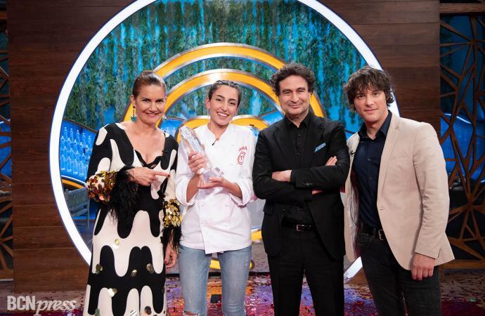 'Masterchef 8', gana Ana y además bate récords de audiencia de todas sus ediciones