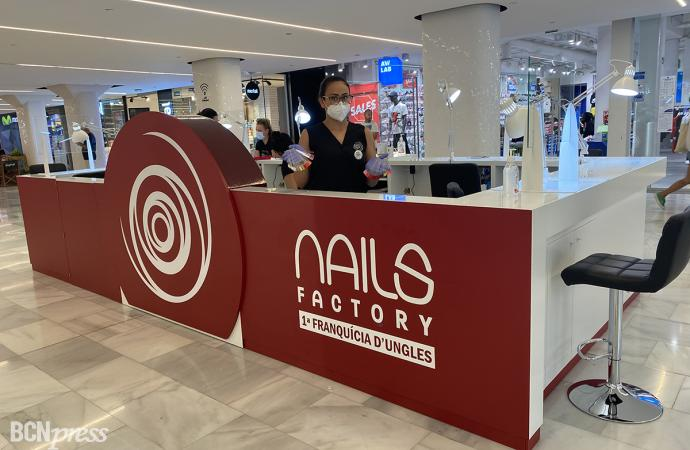 Inauguración de Nails Factory en Glòries
