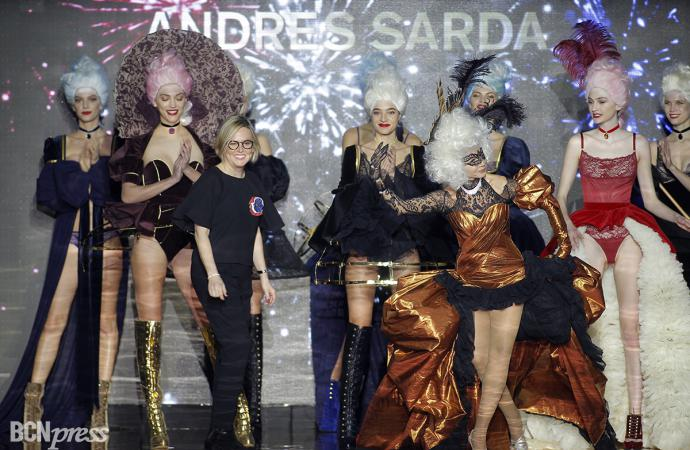 Andres Sardá desfiló en la Mercedes Benz Madrid Fashion Week