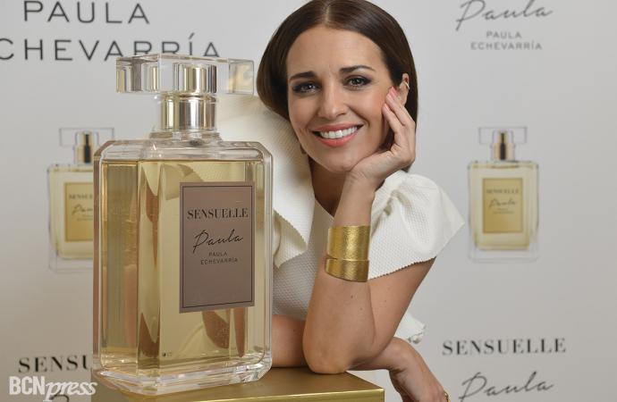 Paula Echevarría presenta 'Sensuelle', su tercera fragancia