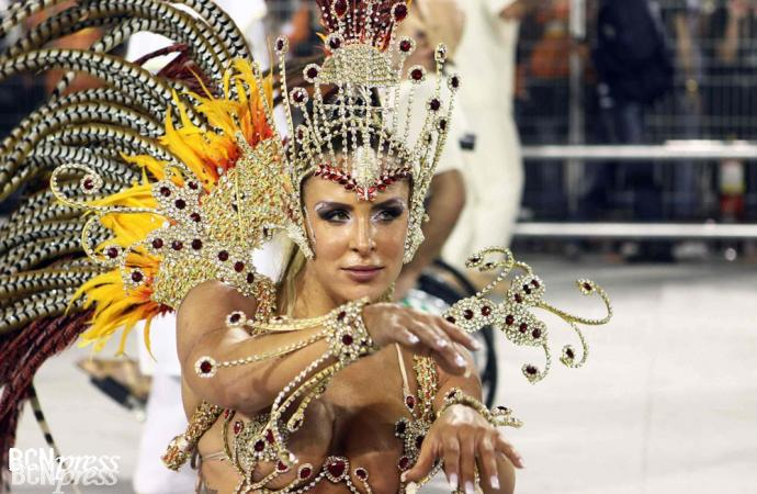 Sao Paulo en Carnaval es un desenfreno
